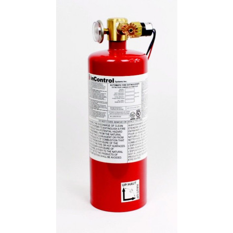 6 lb FM200 Automatic fire extinguisher Class A & C 139 cuft Class B 139 cuft c/w Pressure Switch