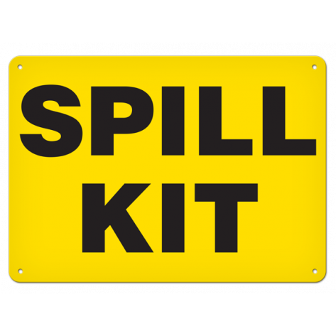 "Spill Kit (10""x14"") Rigid Plastic"