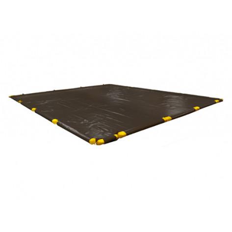 "1310 Gal SpillNEST Berm with Removable Sidewalls, Standard - 12'x39'x4.5""-Black"