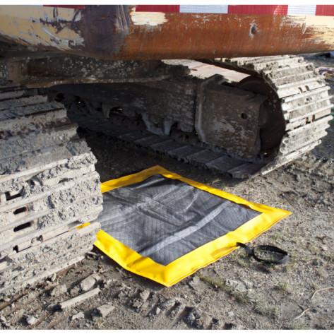 SpillNEST XT Off-Road Drip Pad w/ Grommets - 4x5  - Yellow