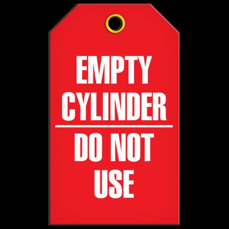 Empty Cylinder Tag (25/pkg)