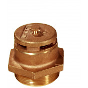 "Brass Vertical Vent For Petroleum Based Applications, 2"" Bung"