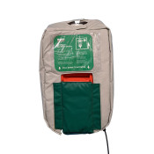 10-Gallon Gravity Fed Eyewash Heated Jacket 120V Plug