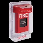 STI FIRE ALARM PULL STATION COVER C/W ALARM ULC