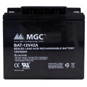 12 VOLT 42 AMP SEALED LEAD BATTERY
