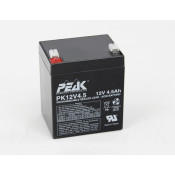 12 VOLT 5 AMP SEALED LEAD BATTERY
