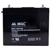 12 VOLT 75 AMP SEALED LEAD BATTERY