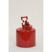5 Gal Galvanized Steel - Red
