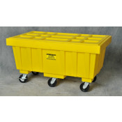 110 GAL Spill Kit Box w/lid  Yellow