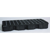 2 Drum Black Modular Platform Unit w/Drain