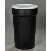55 GAL Lab Pack (Black) w/Metal Lever Lock & Bung Lid