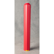 """4"""" Bumper Post Sleeve-Red"""