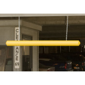 "7"" X 76"" Yellow Clearance Bar w/Eye Hooks"