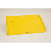 "48"" Portable Poly Dock Plate for Hand Trucks"