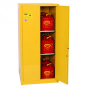60 Gal Two Door Manual Two Shelves