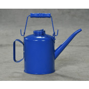 4 Pint Blue Steel w/Top Handle & Top Cap Chain