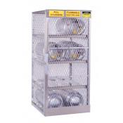 Cylinder Locker For Safe Storage Of 8 Horizontal LPG Cylinders