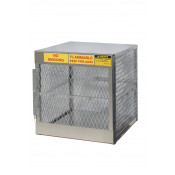 Aluminum LPG 2 Cylinder Locker Storage