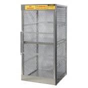 Aluminum LPG 8 Cylinder Storage Locker