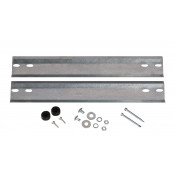 Wall Mount Kit available for 20-gallon safety cabinet, and 12/17-gallon Piggyback cabinets.