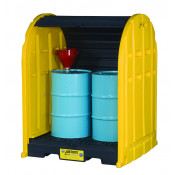 EcoPolyBlend Drum Shed - 2 Drum