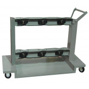 Gas Cylinder Cart, 6 Cylinder Capacity