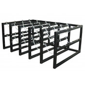 Gas Cylinder Barricade Rack, 20 Cylinder Capacity, 5 Wide by 4 Deep