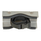 Gas Cylinder Support Bracket, 1 Cylinder Capacity, Wall Mount, Stainless Steel