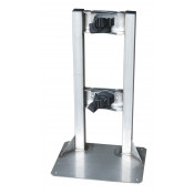 Gas Cylinder Stand, 1 Cylinder Capacity, Stainless Steel