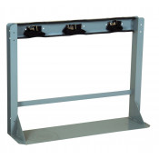 Gas Cylinder Stand, 3 Cylinder Capacity, Steel