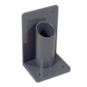 Lecture Bottle (LB) Gas Cylinder Holder, 1 Cylinder Capacity, Wall/Bench Mount