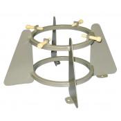 Medical Oxygen Cylinder Holder, 1 Cylinder Capacity-5.75 to 6.75 Inch Diameter