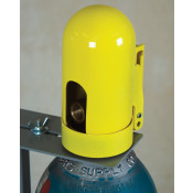 Safety Snap Cap for Gas Cylinders, High Pressure-Fine Thread