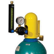 Safety Snap Cap for Gas Cylinders, Low Pressure-Fine Thread