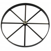 Steel Wheel for Gas Cylinder Hand Trucks, 20 Inch