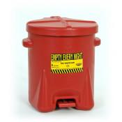 6 GAL Polyethylene - Red w/Foot Lever