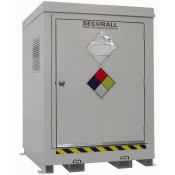 """145.1 cu ft Agri-Chemical Safety Storage Locker FM Approved Exterior Dimension 6'11""""H x 5'W x 5'D; Approx. Ship. Wt. 1,898 Lbs."""