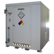 308.1  cu ft Agri-Chemical Safety Storage Locker FM Approved