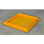 "10 Gal 1-Drum SpillNEST 32.25"" x 32.25""-Yellow"