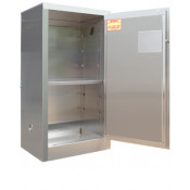 Stainless Steel Safety Cabinet 16 GAL SELF-LATCH STANDARD DOOR  44 H X 24 W X 18 D