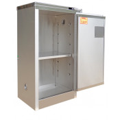 Stainless Steel Safety Cabinet 16 GAL SELF-CLOSE SELF-LATCH SAFE-T-DOOR