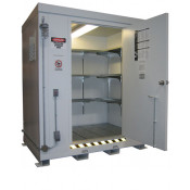 211.4 cu ft Agri-Chemical Safety Storage Locker FM Approved