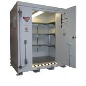 211.4 cu ft Agri-Chemical Safety Storage Locker FM Approved