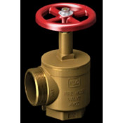 """ANGLE VALVE 2.5"""" STANDPIPE / FIRE DEPT OUTLET CONNECTION"""