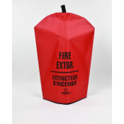 Fire Extinguisher Cover-Bi-Lingual -10 LB with no window