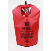 Fire Extinguisher Cover-Bi-Lingual -20 LB with window