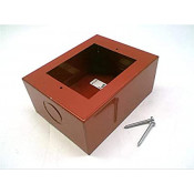 Red Mounting Box for Mini Horns & 400 Series Pull Station Single Gang