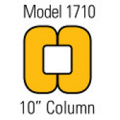 "10"" Column Protector, Yellow"