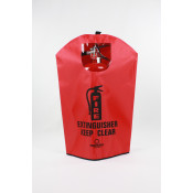 Fire Extinguisher Cover-English -20 LB with window