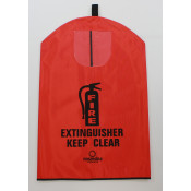 Fire Extinguisher Cover-English -30 LB with window